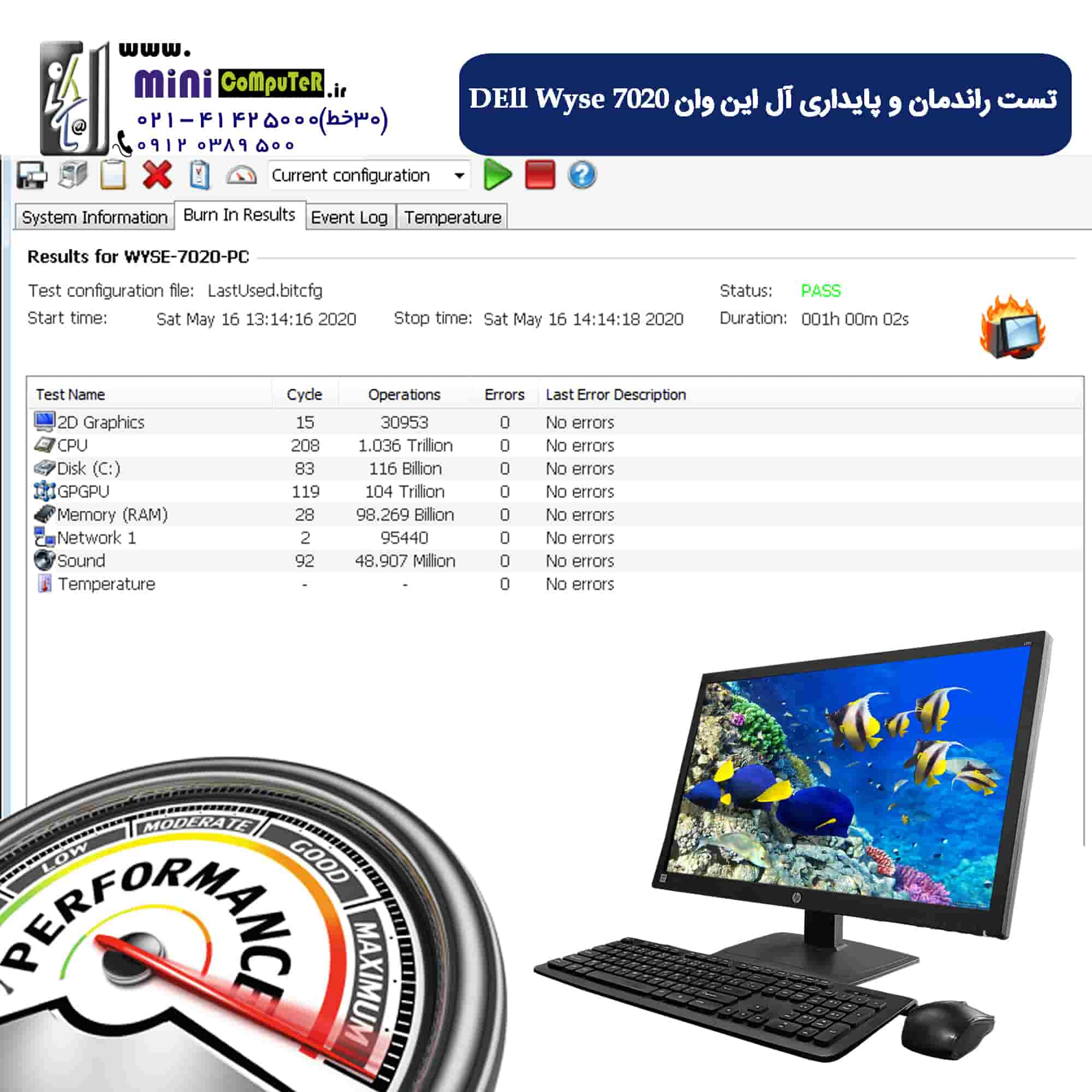 آل این وان Dell Wyse 7020 FullPort
